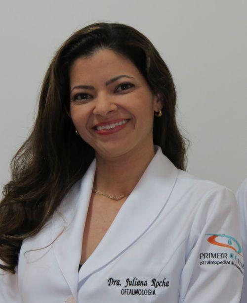 Juliana de Souza Rocha - oftalmologista