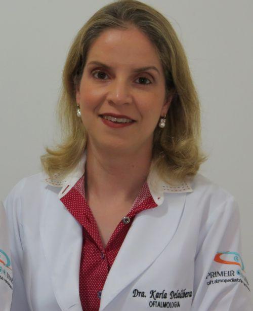 Karla Delalíbera Pacheco - oftalmologista